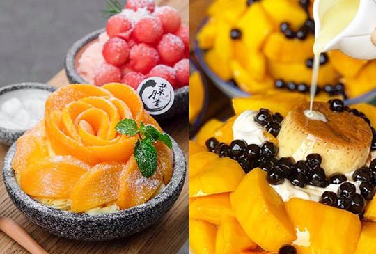 【夏季必追芒果盛宴】特搜全台8大浮誇系「芒果美食」,一起甜起來!