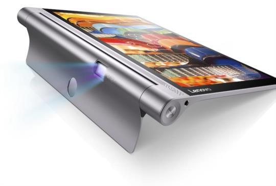 附帶投影機功能!聯想推出全新平板 Yoga Tab 3 Pro