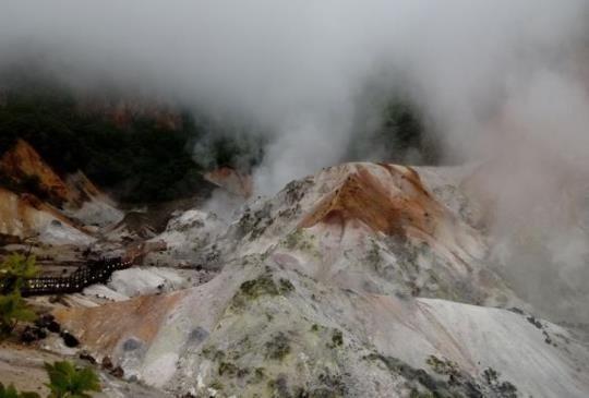 【北海道】登別地獄谷:世界珍稀的溫泉百貨公司