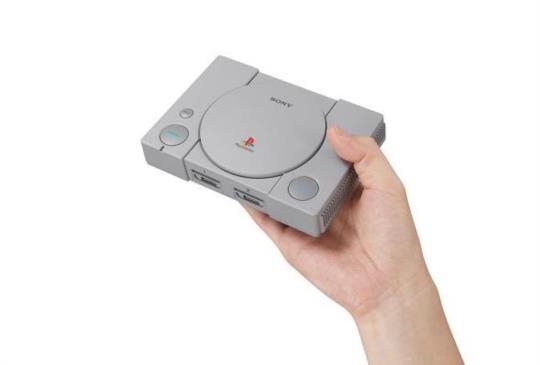 跟上懷舊迷你主機風,Sony 推出初代 PS 迷你版「PlayStation Classic」