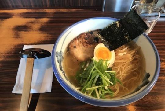 【東京x美食-排隊拉麵店!阿夫利Afuri 柚子鹽拉麵】