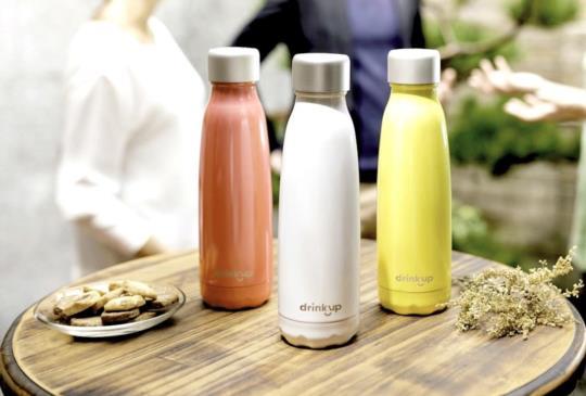 絕美外型與聰明喝水,DrinKup 智慧保溫瓶開箱與評測