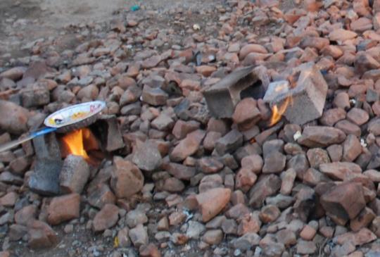 台灣豆知識:老天爺偶爾也想生火烤肉吃:出火景觀區