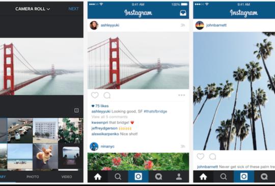 突破框架,Instagram 將全面開放長方型照片上傳