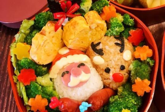 日本ARNEST 耶誕造型便當