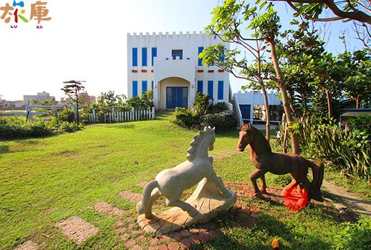 白馬的家─藍天白雲與充滿生命力的象徵│線西鄉