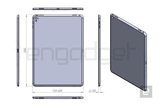 iPad Air 3 將配備四出揚聲器,設計草圖揭露細節