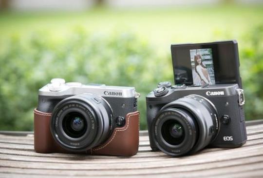 Canon 推出迷你單眼 EOS M6,雙像素高速自動對焦搶眼登場