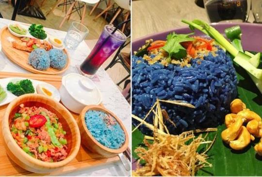 【不輸給漸層飲料的美!來台灣這3間餐廳挑戰蝶豆花飯,夢幻得讓你愛不惜口】