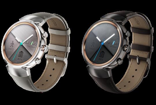 華碩發表首款圓形智慧錶,ZenWatch 3 德國 IFA 展現身