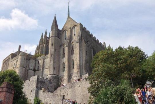 【法國】讚嘆的聖米歇爾山之旅