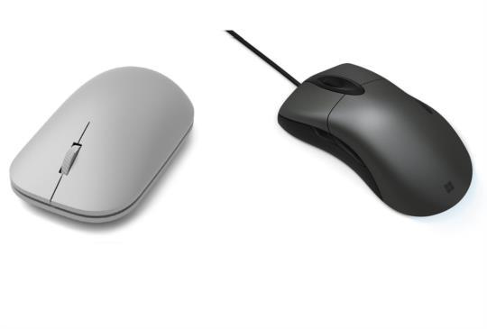 台灣微軟推出「時尚滑鼠」與「經典閃靈鯊滑鼠」
