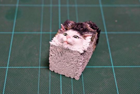 日本模型家將奇怪貓咪做成3D版 成品絕對讓你嘴角失守