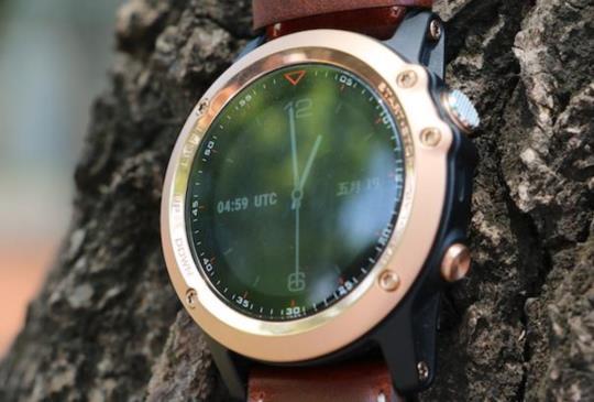 高調奢華,運動 GPS 智慧錶 Garmin fenix 3 玫瑰金版本實測