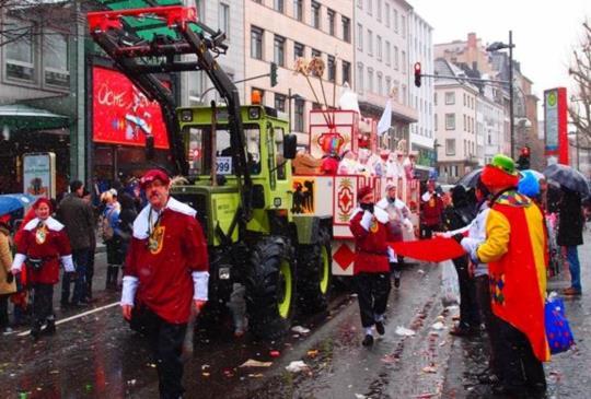 【德國】科隆狂歡節:年度最好玩的瘋狂盛事