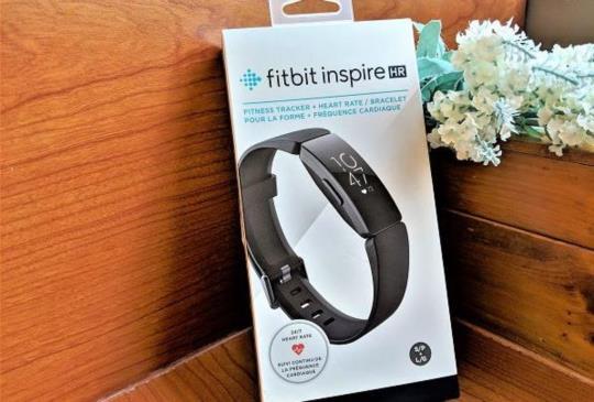 運動健康管理小幫手,Fitbit 入門穿戴手環 Inspire HR 開箱體驗