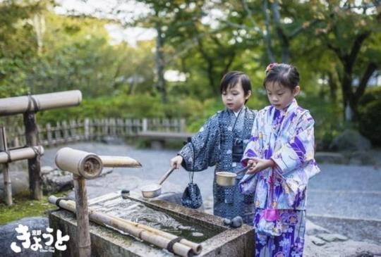 【京都和服體驗】嬰兒以上屁孩未滿最可愛