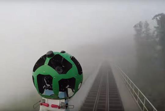 Google 街景超過 150 個台灣景點大翻新,首度新增阿里山鐵路沿線風景