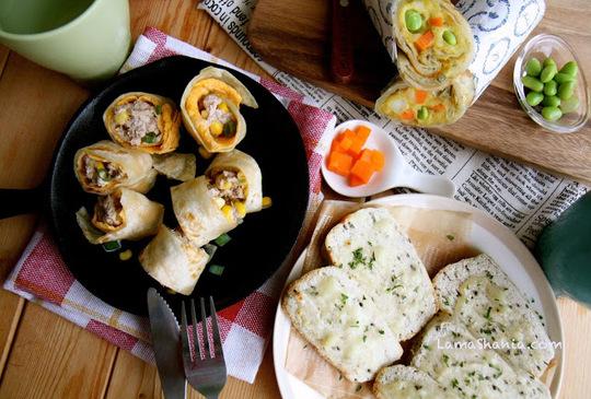 三道簡單快速又美味的早餐 ~ 超推薦的!