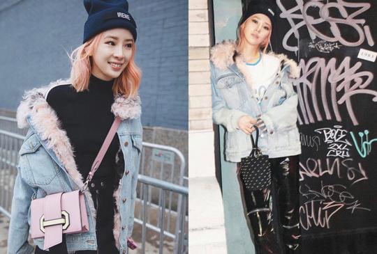 【丹寧外套4大穿搭法,輕鬆穿出時尚潮人Irene Kim的街頭風格!】
