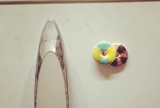 小資女省錢學手作-02 入門款甜甜圈磁鐵