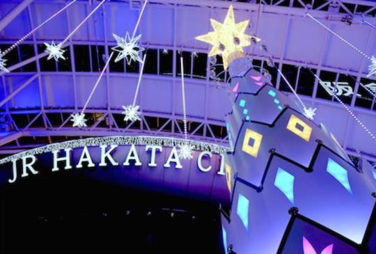 【福岡】博多的聖誕點燈 一起抓住聖誕節尾巴