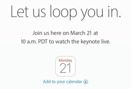 蘋果發表會確定 21 日登場,iPhone SE 與 iPad Air Pro 可望亮相