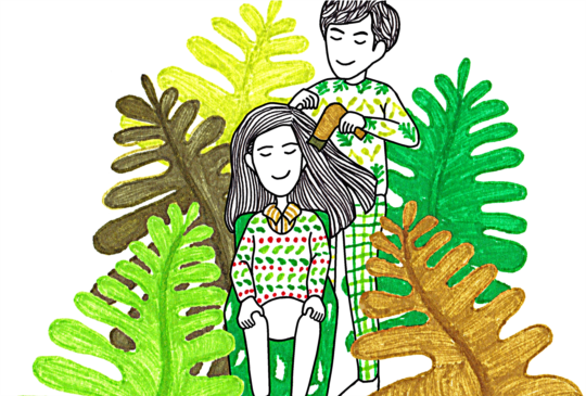 【就算我們變成老夫老妻,也不要忘記當初為何相愛。】
