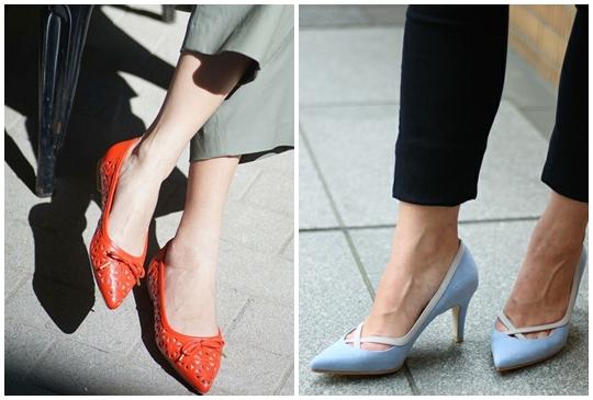 OL指定:夏天就要好穿耐走不會累的尖頭平底鞋款