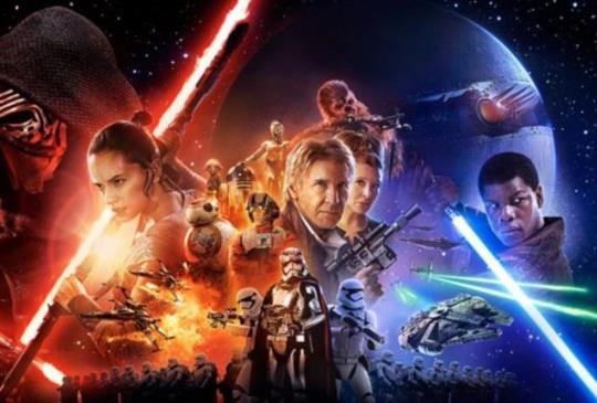 【《STAR WARS:原力覺醒》上映倒數兩周 MP魔幻力量原力表演嗨翻光劍大道】