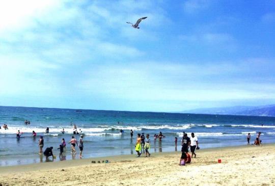 【美西】聖塔莫尼卡:夏天絕佳踩浪消暑度假勝地