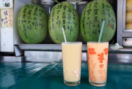 [台北美食] 店名超嚇人~混蛋老闆果汁店