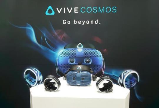 HTC VR 家族再添新成員,電競風 VIVE COSMOS 規格更強正式上市