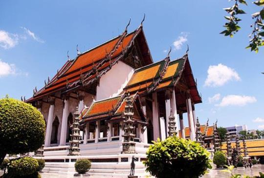【泰國】天神入凡間的階梯 - 曼谷大鞦韆