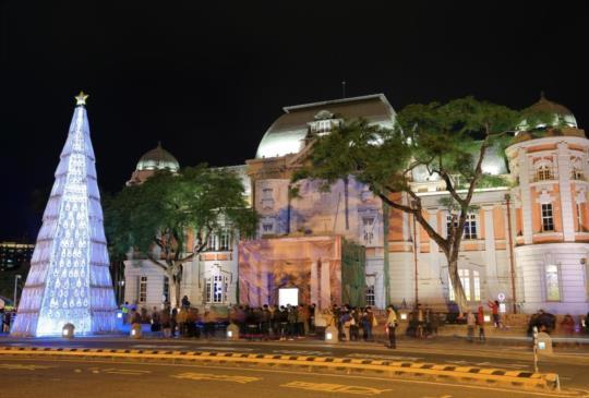 絕色聖夜•原色再現2015台南原色聖誕燈節熱鬧展開