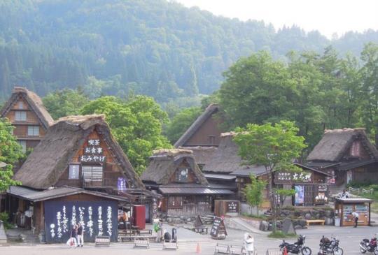 【日本】走入童話世界白川鄉合掌村