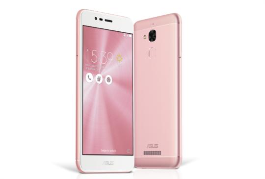 ASUS ZenFone 3 Max ZC520TL「瑰麗粉」新色春漾上市