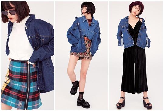 一件萬能丹寧外套搞定整個秋季穿搭!