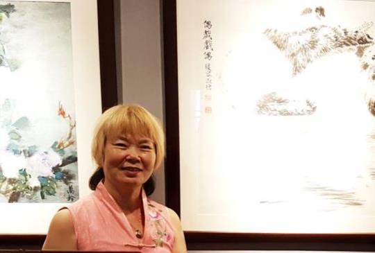 「采風有愛」邀請國際級貓熊藝術家瑗容淑德在桃園參展