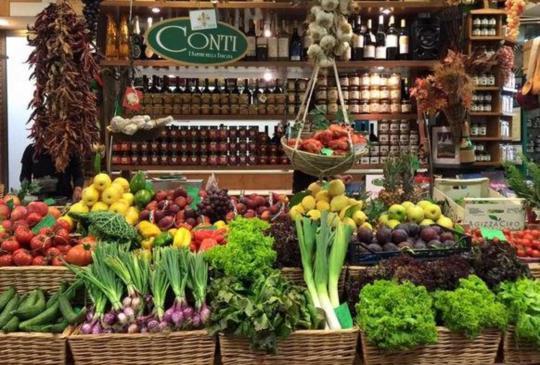 【佛羅倫斯中央市場】~跟著小愛逛市場