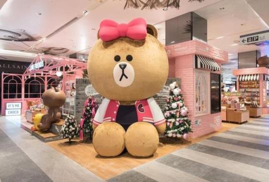 【跟熊大妹妹一起喝咖啡!「LINE FRIENDS Cafe & Store」給妳滿滿少女心~】