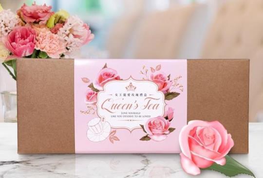 【寵愛女人!女王x無二 聯名玫瑰禮盒 姐妹聚會必備!】