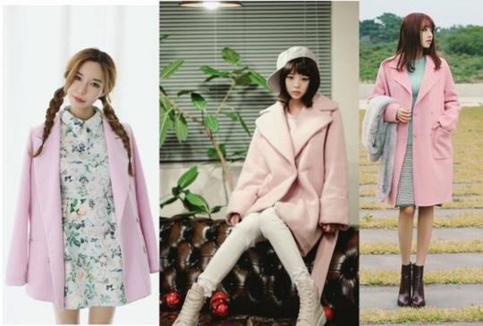 【冬天也要最亮眼!最個性粉紅色系外套5種穿搭法】