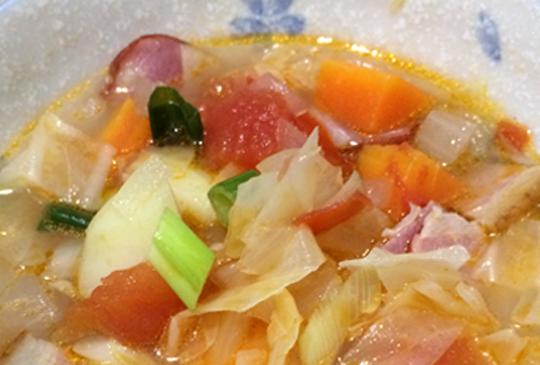 【營養健康番茄蔬菜湯】食譜DIY