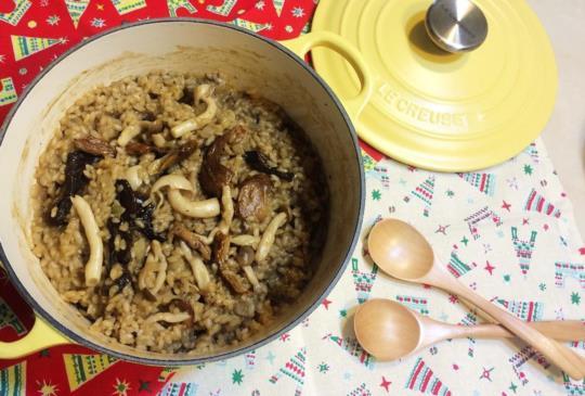 ♥煮婦女王♥的食譜「牛肝菌菇燉飯」簡單作法~