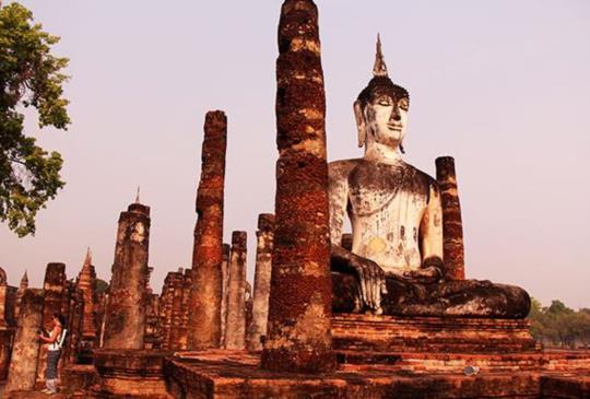 【泰國】在素可泰仰望幸福的曙光