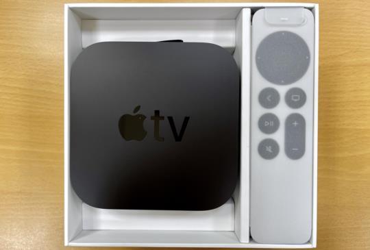 2021 年版 Apple TV 4K 簡單開箱,遙控器大幅改進!