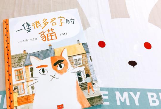 【冷冷的天,讀暖暖的繪本】你也認識《一隻很多名字的貓》嗎?