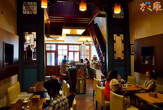 孩提咖啡─清朝老屋內的咖啡館│鹿港鎮