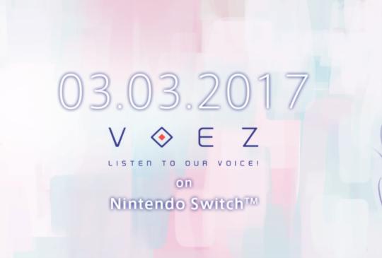 雷亞《VOEZ》列入 Nintendo Switch 首波上市遊戲名單